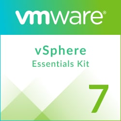 Academic VMware vSphere 7 Essentials Kit for 3 hosts (Max 2 processors per host)