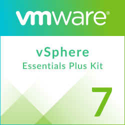 Academic VMware vSphere 7 Essentials Plus Kit for 3 hosts (Max 2 processors per host)